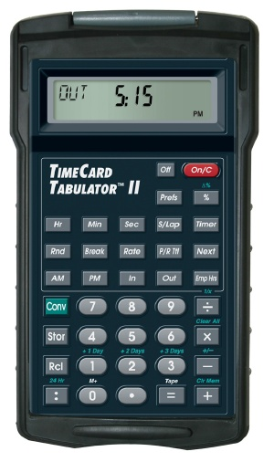 Payroll Calculator - TimeCard Tabulator II